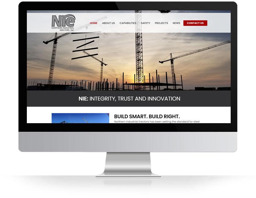 NIE Website Development