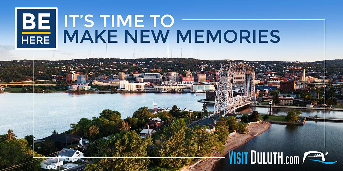 Visit Duluth: Be Here Billboard
