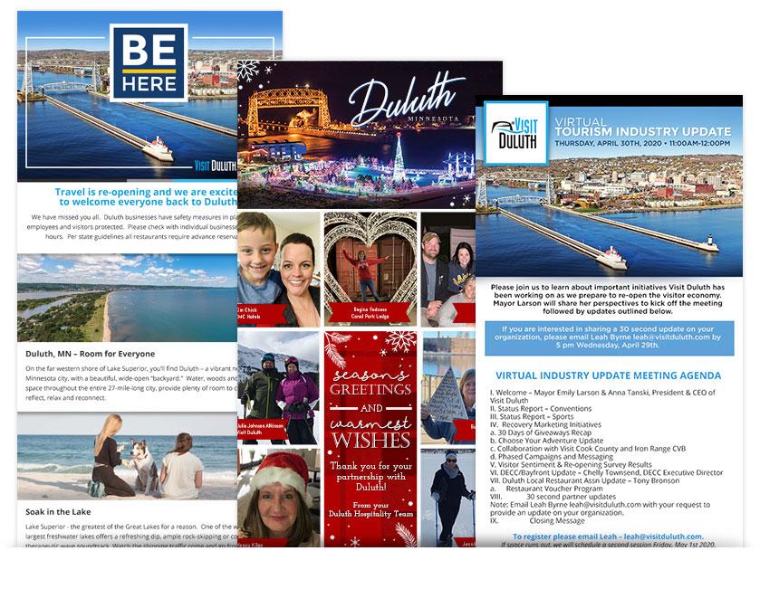 Visit Duluth Email Marketing