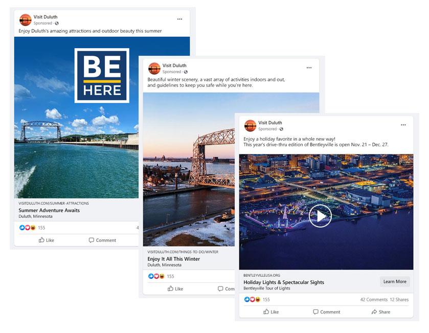 Visit Duluth Social Media Marketing