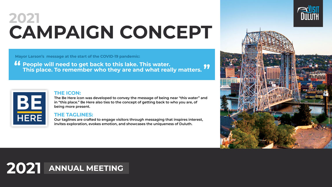 2021 Annual Meeting Presentation: Campaign Concept